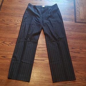 Armani Collezioni Pinstripe Pants